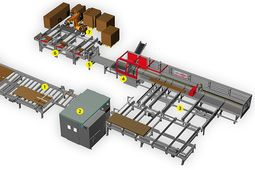 Stacking robot convinces in fully automated panel sizing