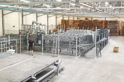 Fully Automatic Solid Wood Processing  With High Performance and Little Waste